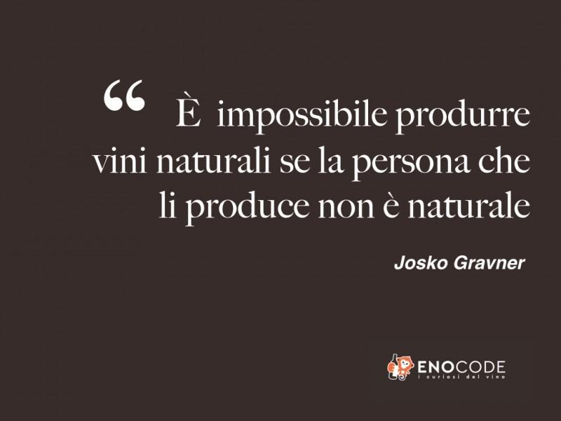 Josko Gravner - L'uomo naturale e i vini naturali