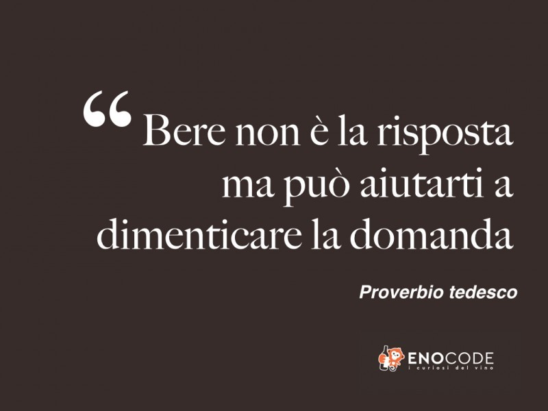 Proverbio tedesco