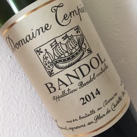BANDOL ROUGE 2014 DOMAINE TEMPIER