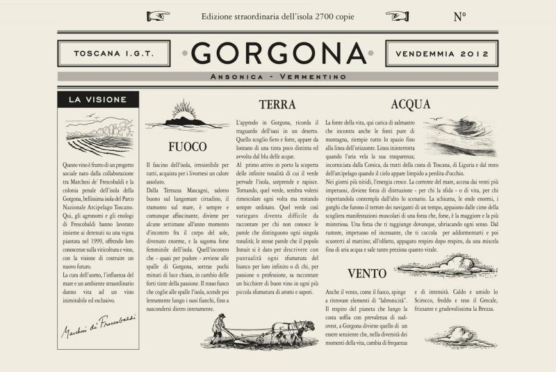 TOSCANA: PROGETTO GORGONA, il vino dell'utopia realizzata
