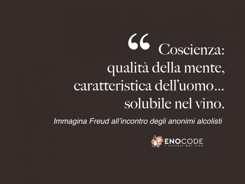 <Freud e il vino, citazioni e aforismi nel mondo del vino