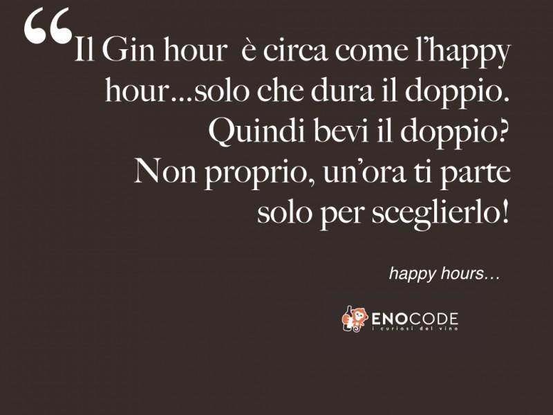 l'ora del Gin