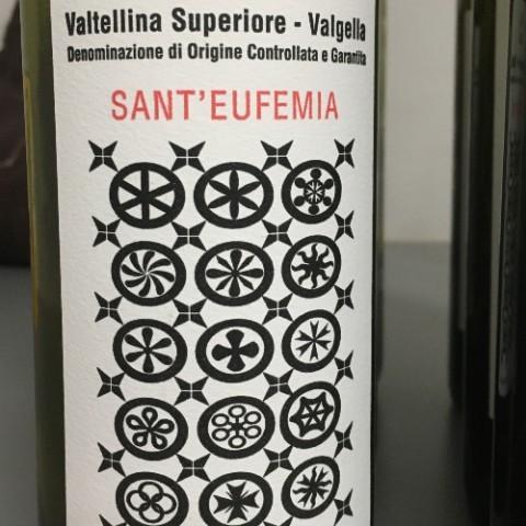 VALGELLA VALTELLINA SUPERIORE SANT'EUFEMIA 2014 MARIA LUISA MARCHETTI