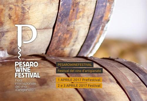 PESARO WINE FESTIVAL 2018: A PESARO DAL 6 ALL'8 APRILE UN FESTIVAL DEDICATO AL MONDO DEL VINO