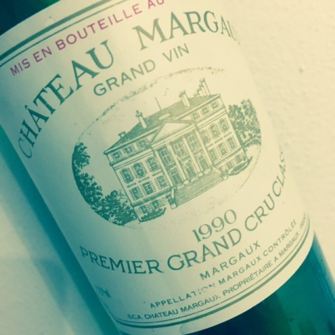 GRAND VIN 1ER GCC 1990 CHATEAU MARGAUX